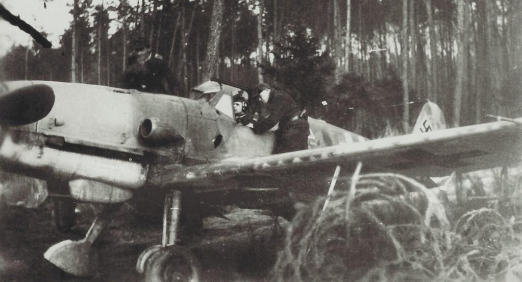 Bf 109 K-4 W.Nr. 332660 du 11/JG-53 (hasegawa 1/48)  A21