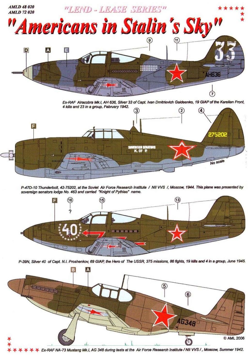 Bell P-400 aux couleurs Russes ( Eduard 1/48) Amld4818