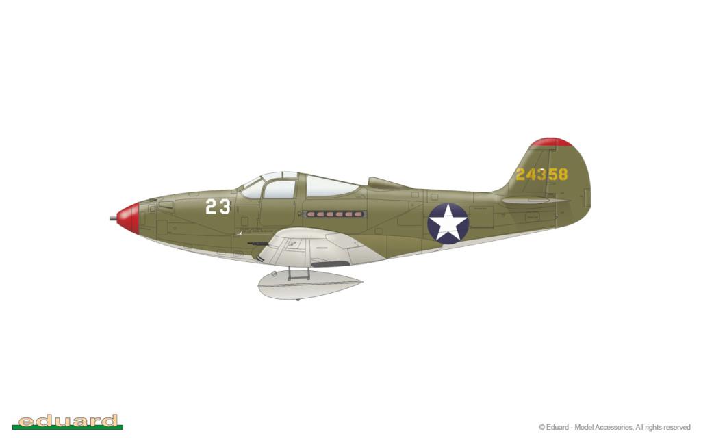Bell P-400 aux couleurs Russes ( Eduard 1/48) B16