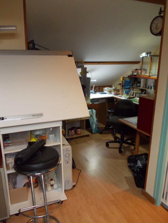 Mon nouvel atelier ( pas encore terminé ) B20