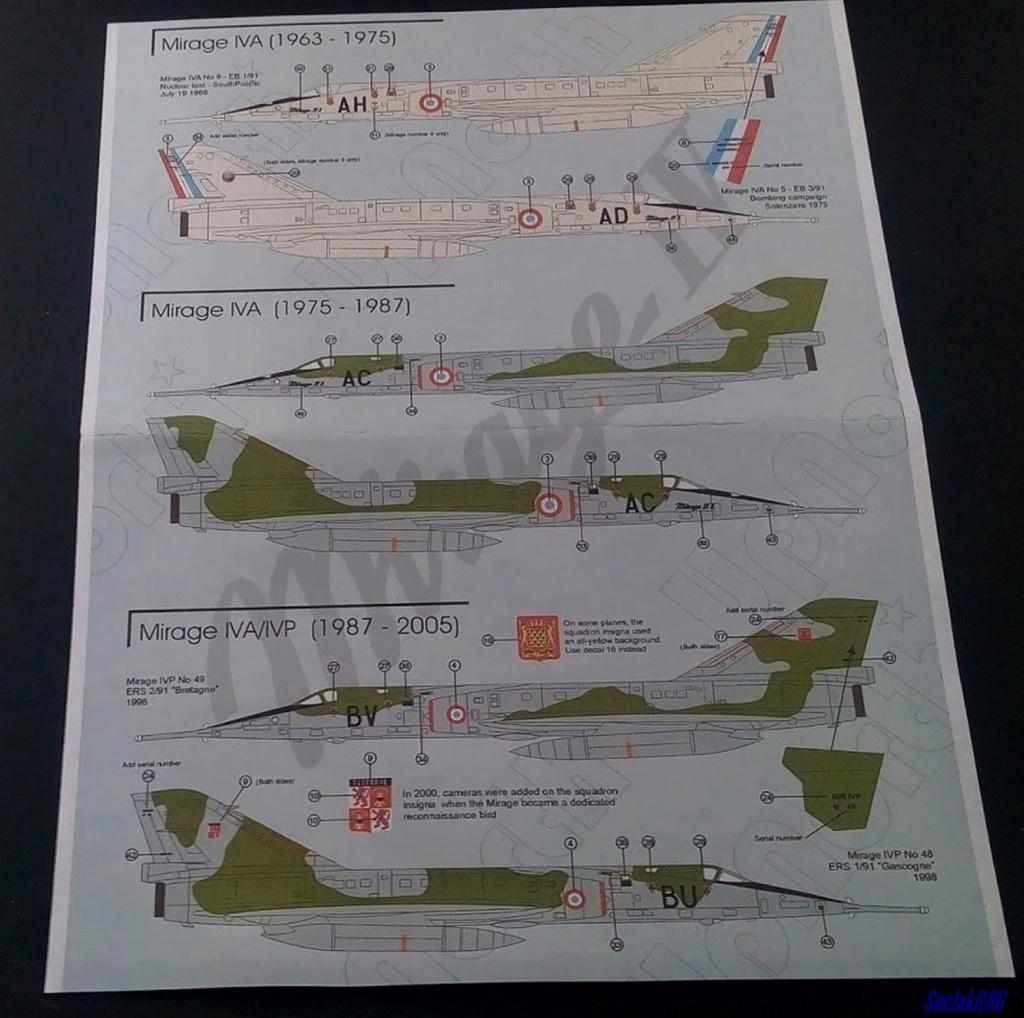 """Fil Rouge 2021 * Mirage IV A n°31/BD """"Opération Tobus """" (Heller 1/48)  B29"""