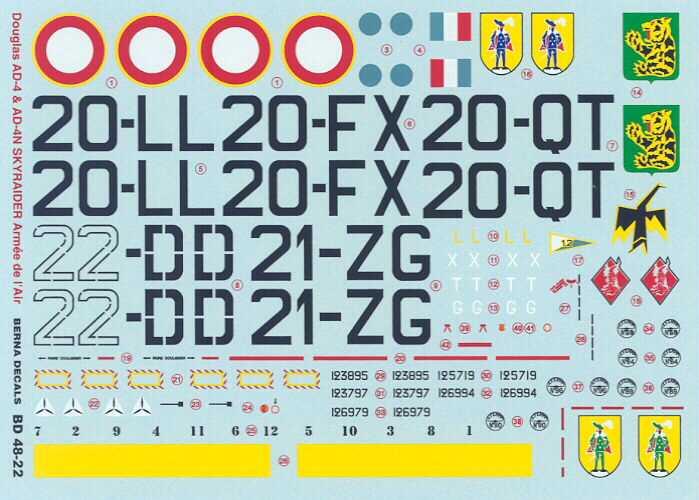 AD-4 Skyraider n°123895 /SFERMA 110 de l'EC 3/20  (Tamiya 1/48) Bd482210