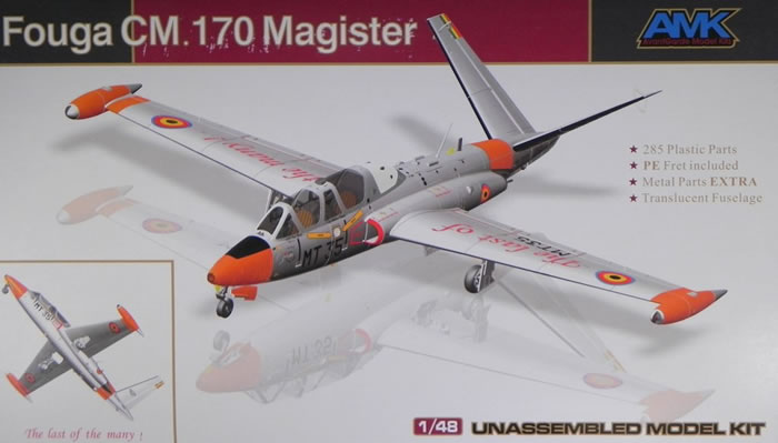 Fouga CM-170 Magister ( AMK 1/48 ) Box_ar10
