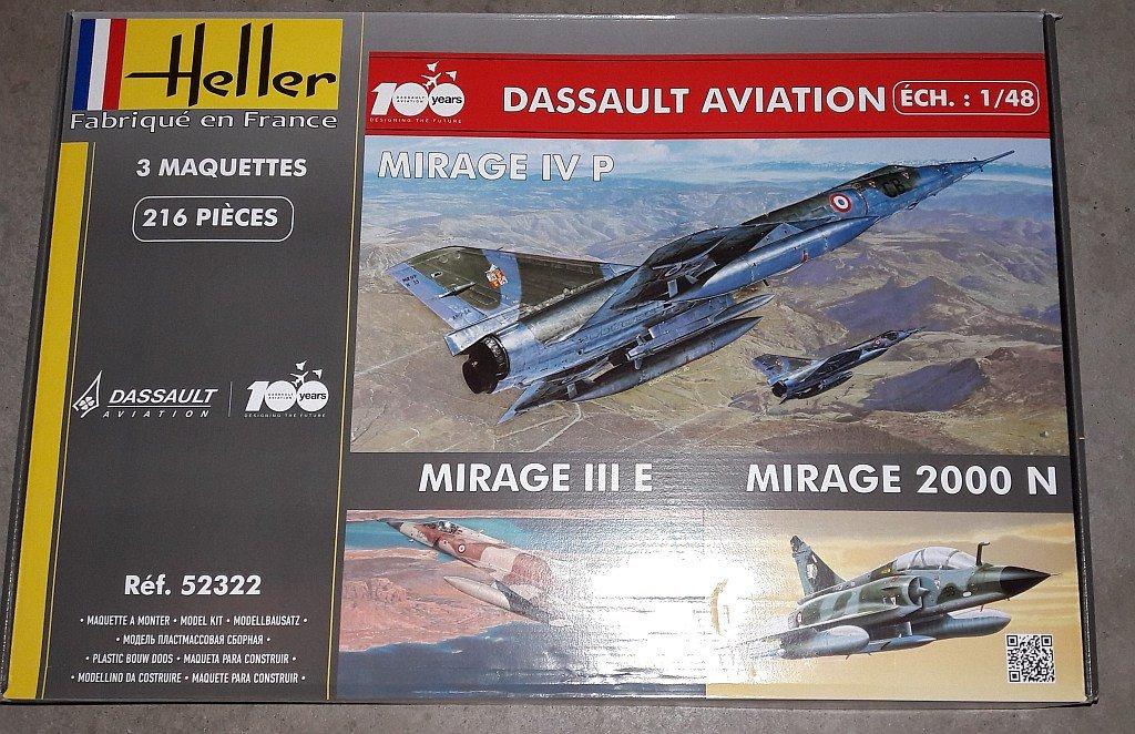 Mirage III C / B ( Heller 1/48) Box_ar13