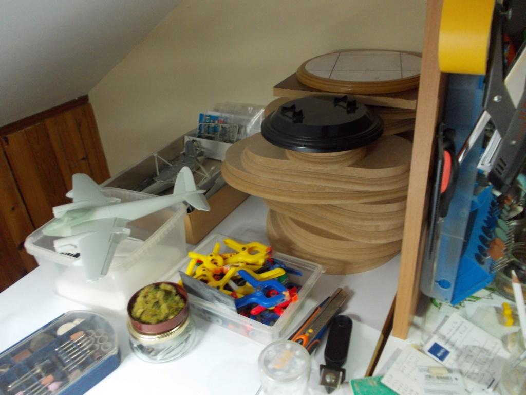 Mon nouvel atelier ( pas encore terminé ) C17