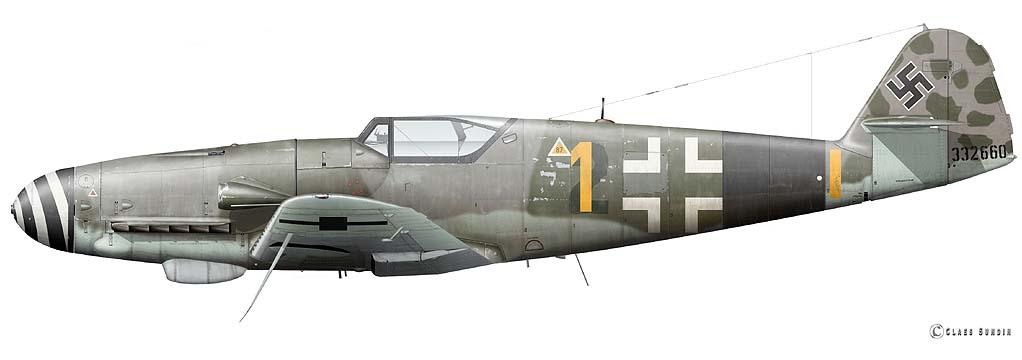 Bf 109 K-4 W.Nr. 332660 du 11/JG-53 (hasegawa 1/48)  C21