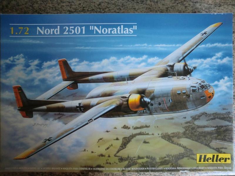 Fil rouge 2019 : Nord 2501 Noratlas ( Heller 1/72 ) Cimg3911