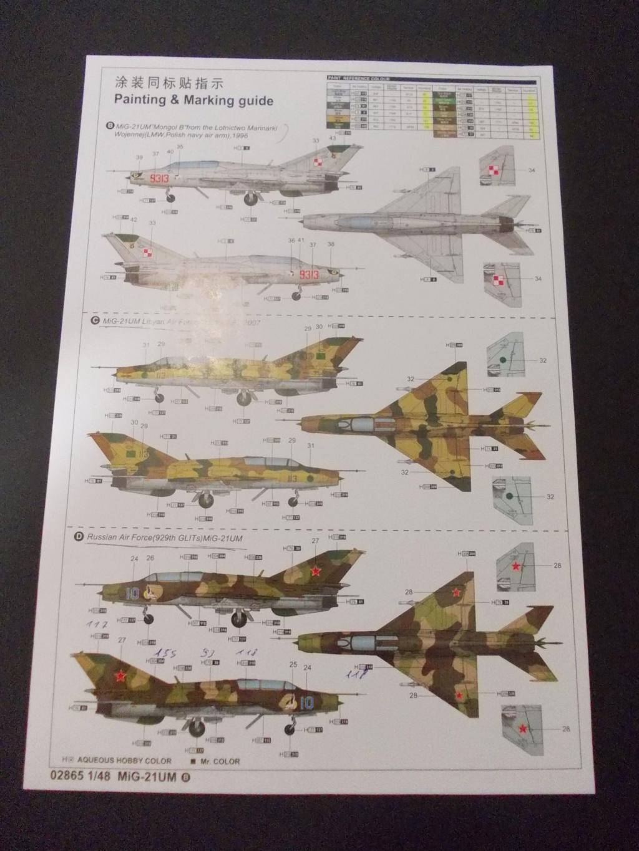 MiG-21 UM  Mongol B (Trumpeter 1/48)  Dscn0023