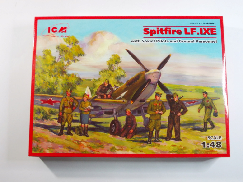 Spitfire LF-IXe with Soviet Pilot & Ground Crew 1/48 ( ICM 48803 ) Dscn0153