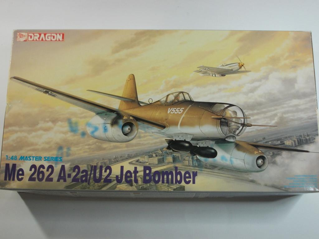 Me 262 A-2a/U2 au 1/48 ( Dragon 5529 versus Hobby Boss 80377 ) Dscn0190