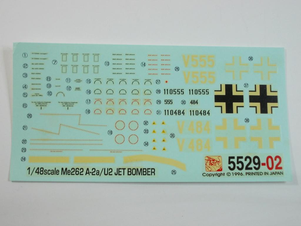 Me 262 A-2a/U2 au 1/48 ( Dragon 5529 versus Hobby Boss 80377 ) Dscn0193