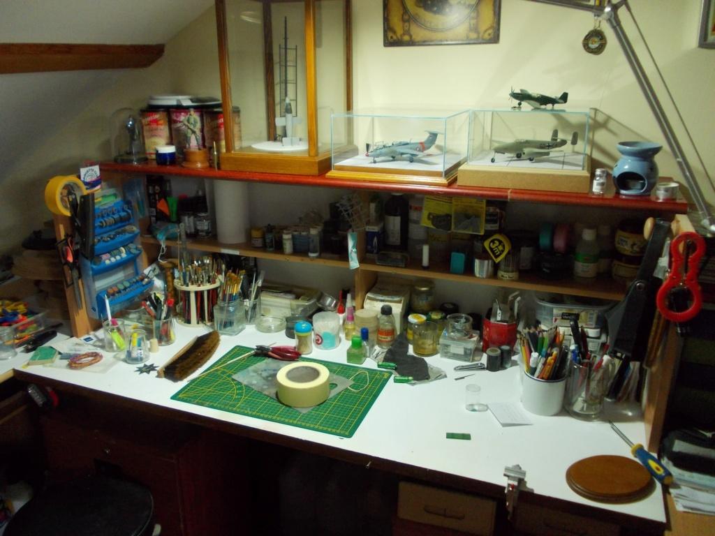 Mon nouvel atelier ( pas encore terminé ) Dscn0234