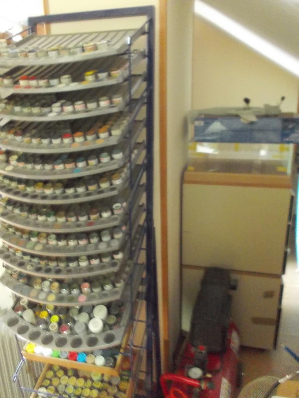 Mon nouvel atelier ( pas encore terminé ) Dscn0238