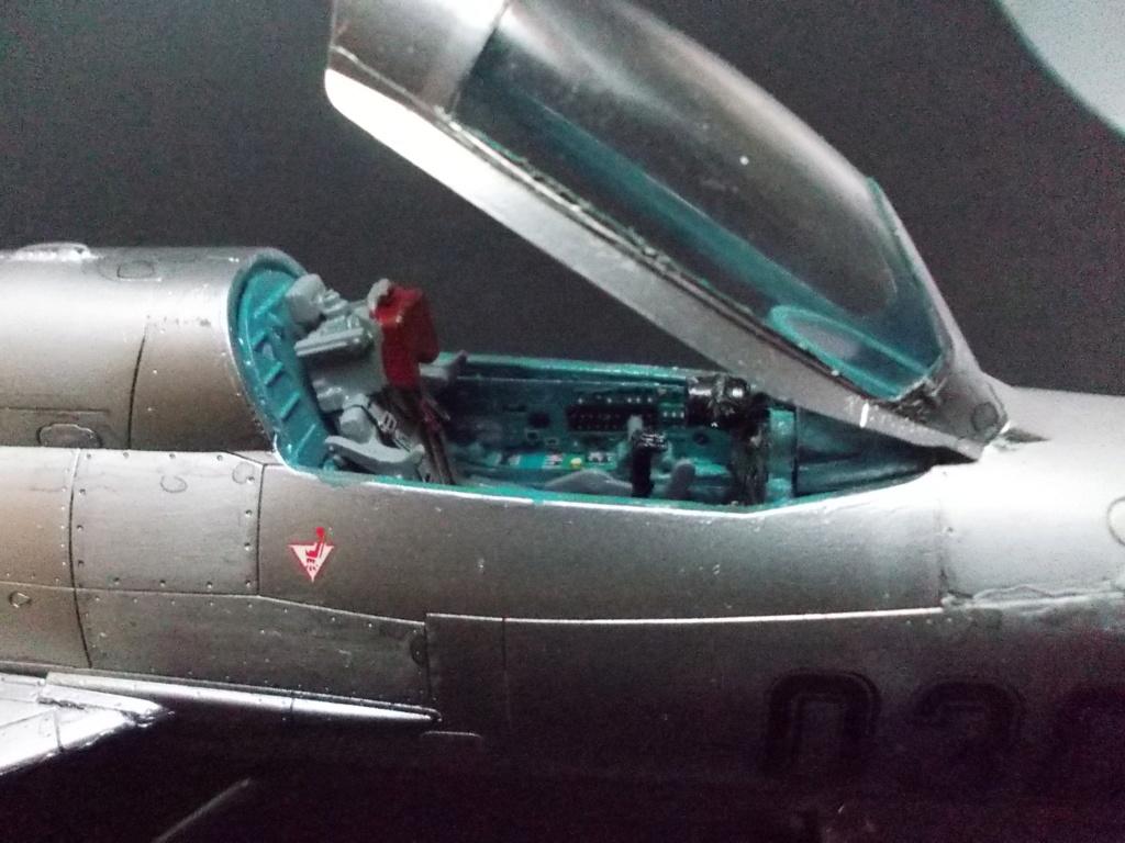 """MiG-21PF (Eduard  réf 1187 """"Silver Harrows """" 1/48)  Dscn1313"""
