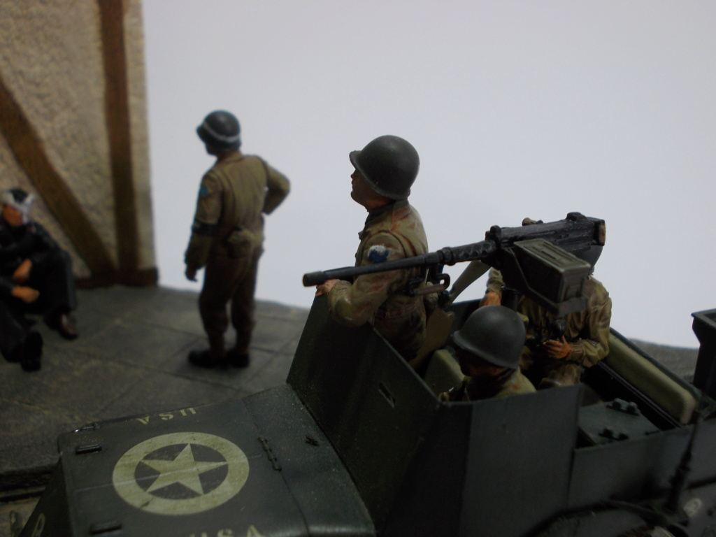 U.S. Multiple Gun Motor Carriage M16 1/35 Tamiya  FINI !!!!!!!! Dscn1443