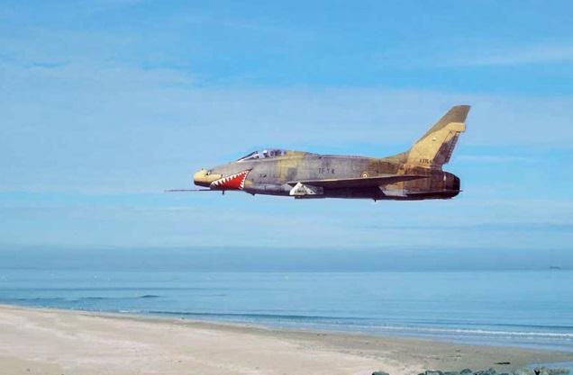 N.A. F-100 D Super Sabre (Trumpeter 1/48 ) F-100d10