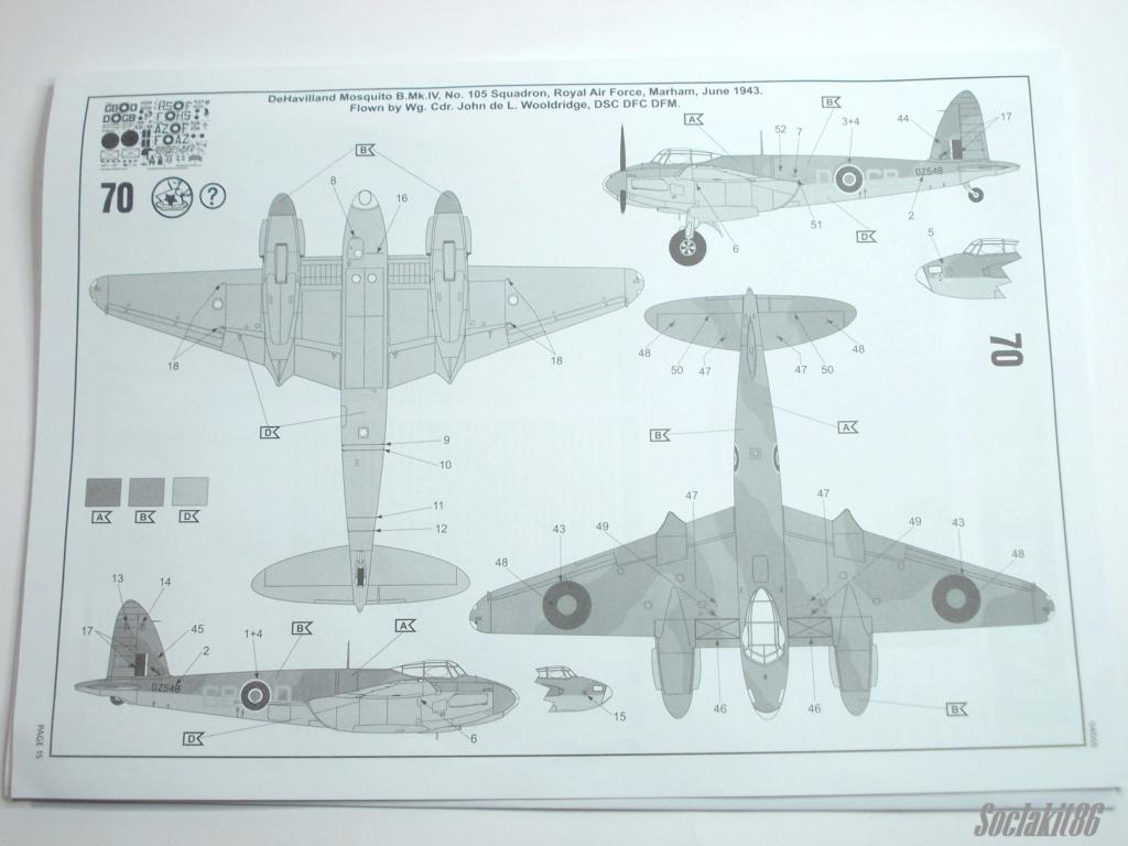 De Havilland  DH-98 Mosquito B mark IV (Revell 04555 au 1/48 ) F1a10