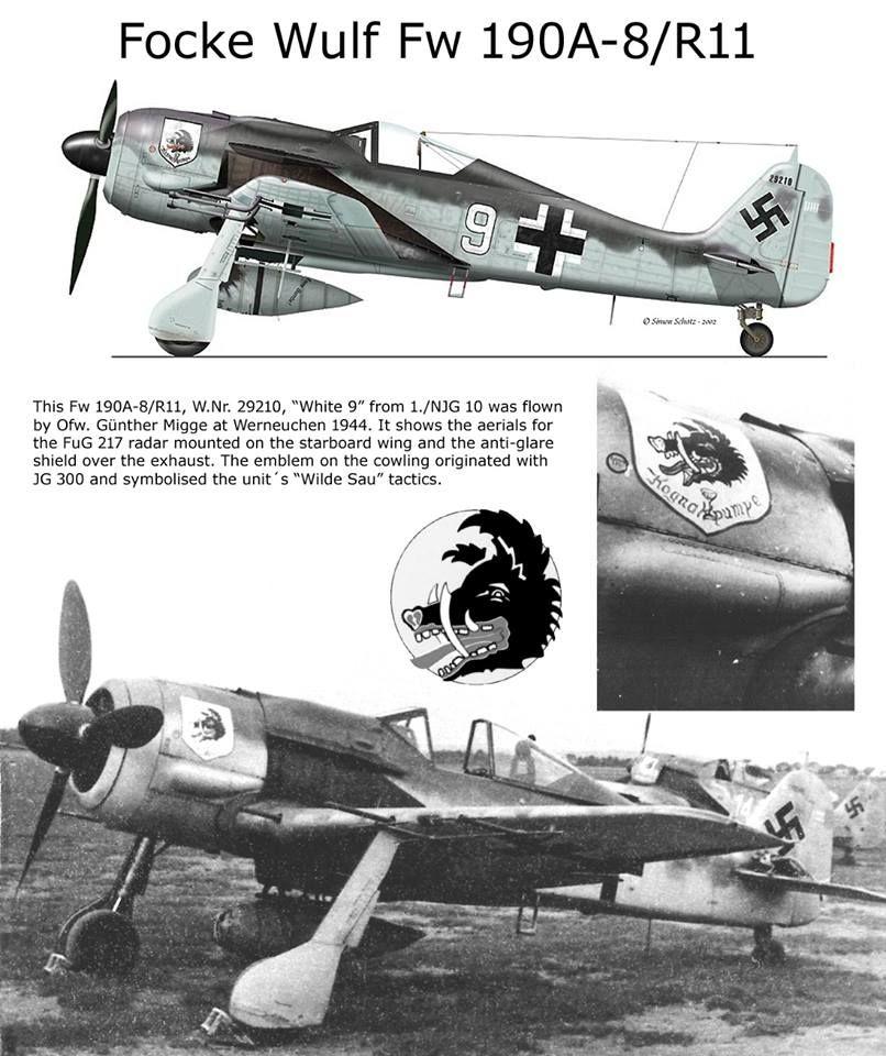 revell 1/32 focke wulf 190 a-8 nightfighter  F32d8510