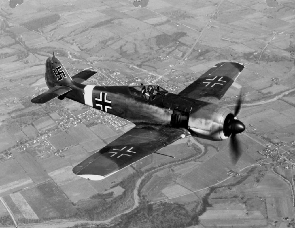 """FW 190 A-5 codé D5 + XV du 10/NJG-3 """"Nachtjagdkommando 190"""" (Eduard 1/48) Focke-22"""