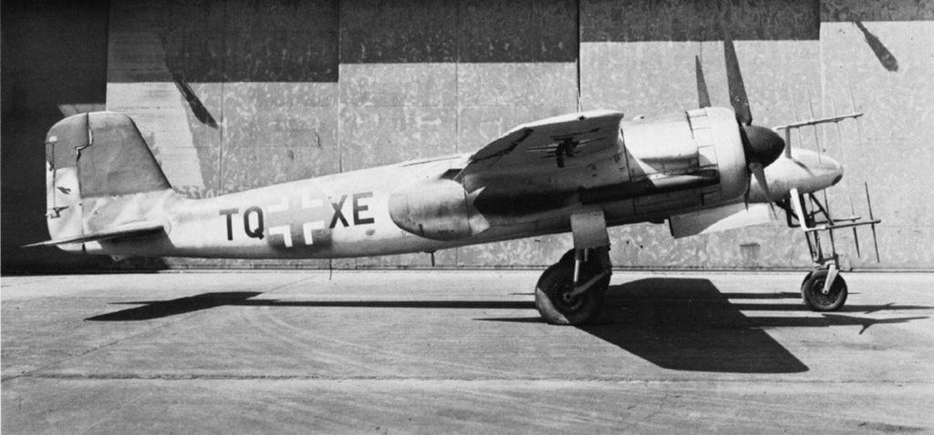 Ta 154 A-1  W.Nr. 160791 codé 4R+GN de la 5/NJG-2  (Revell & Verlinden 1/48) Focke-25