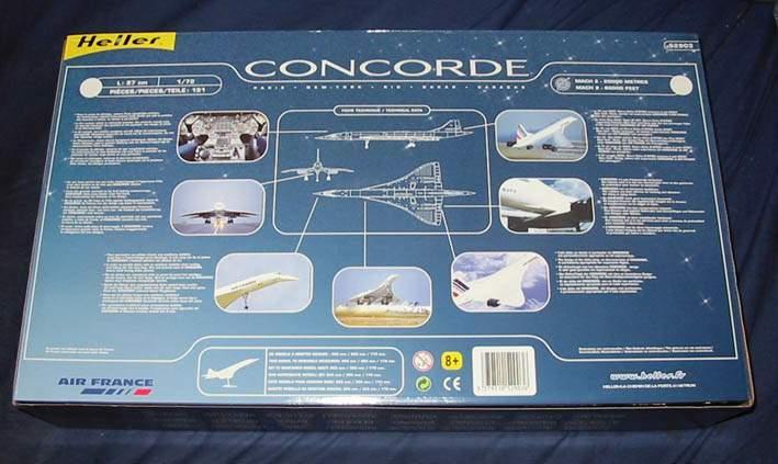 """[CONCOURS """"Ca brille""""] Concorde n°203 / F-BTSC - Heller -1/72 --> maquette détruite Helr_c10"""