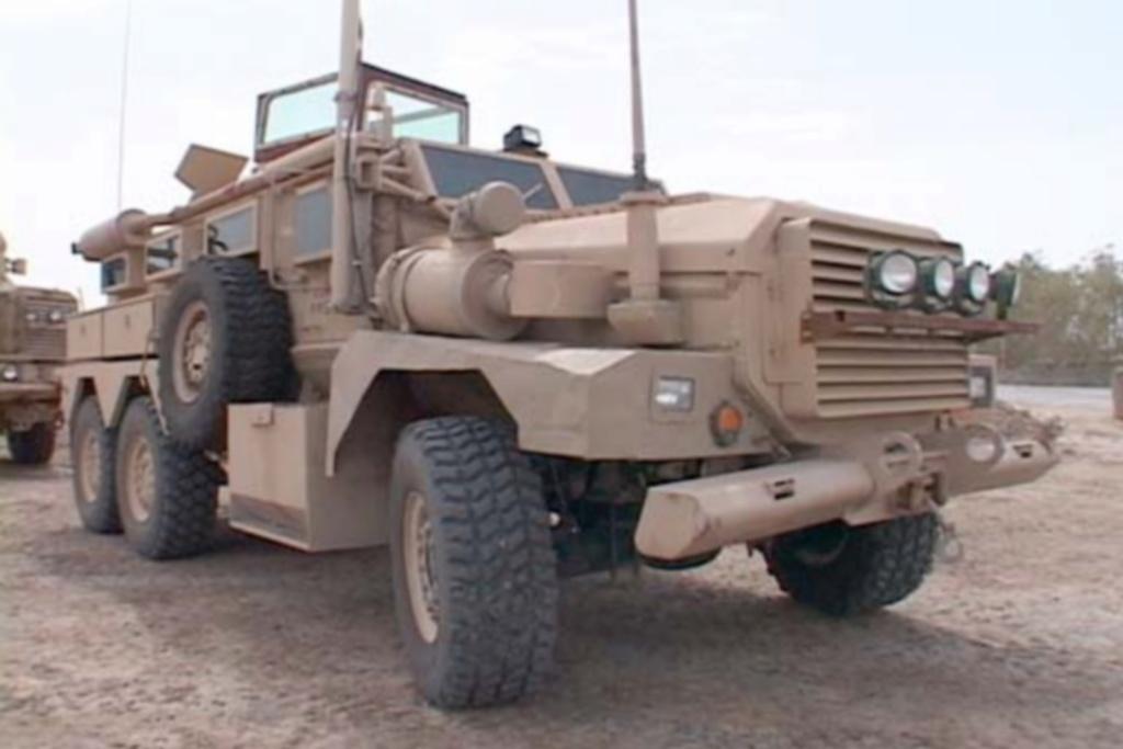 Mine Resistant Ambush Protect  6 x 6 Cougar (Meng 1/35)  Id_mra10