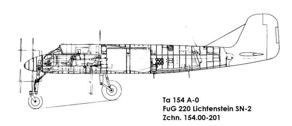 Ta 154 A-1  W.Nr. 160791 codé 4R+GN de la 5/NJG-2  (Revell & Verlinden 1/48) Img_0210
