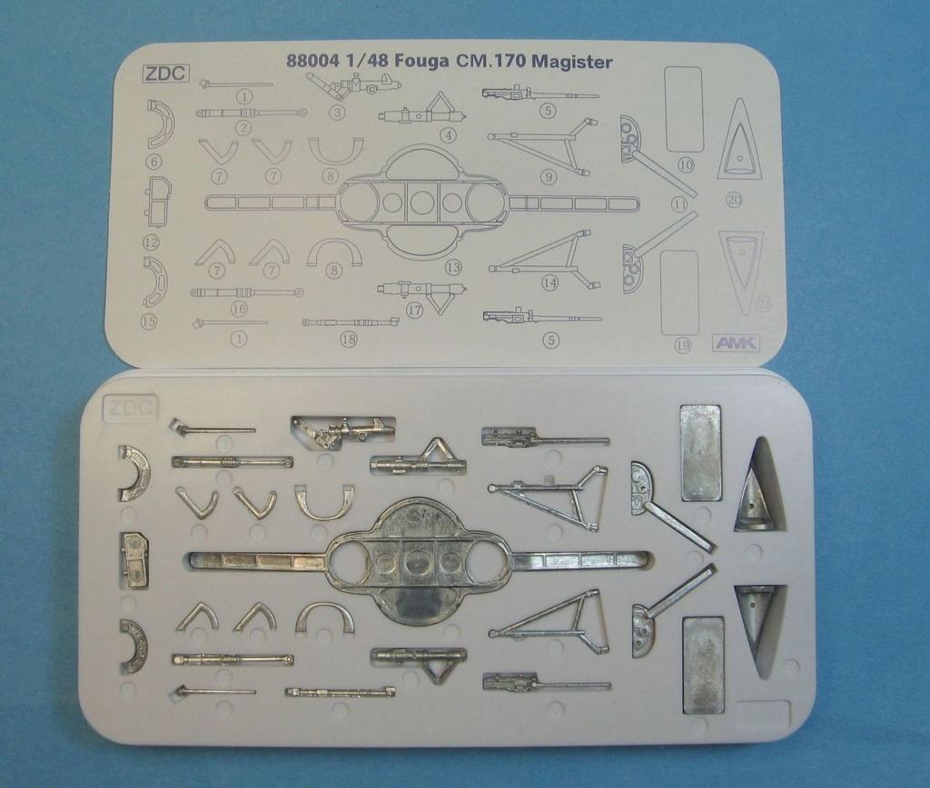 Fouga CM-170 Magister ( AMK 1/48 ) Img_5823