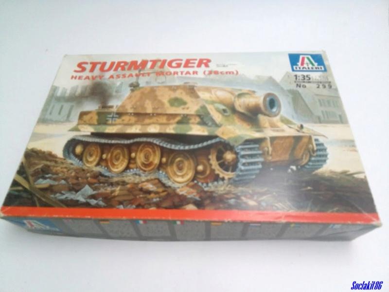 Sturmtiger (Italeri 1/35)  M0010