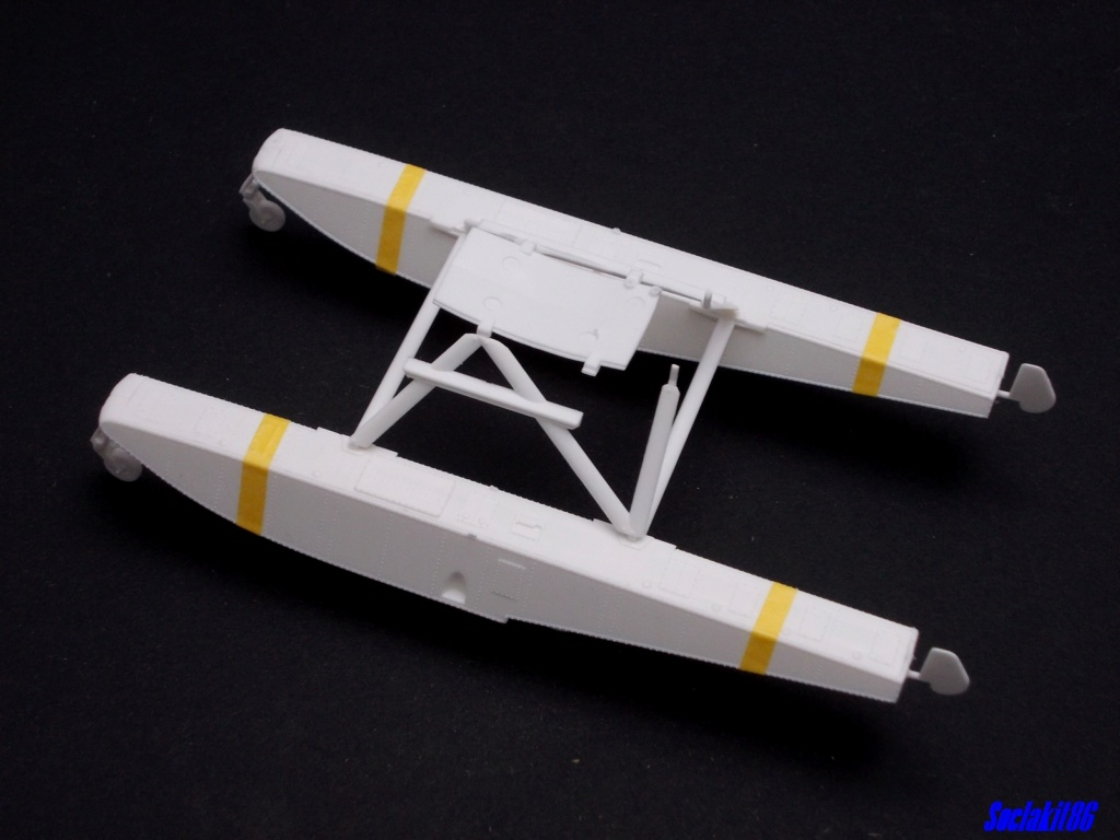"Piper PA-18-150 "" Super Cub"" Float Plane (Revell 1/32) M0126"