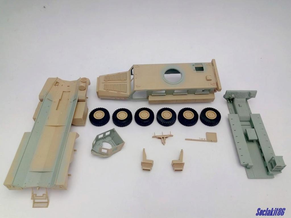 Mine Resistant Ambush Protect  6 x 6 Cougar (Meng 1/35)  M0135
