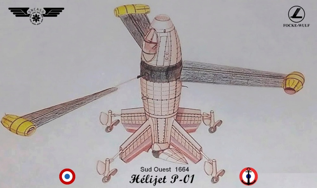 Sud Ouest 1664 Hélijet P-01 (Mini Art 1/35 réf 40009)  M0154