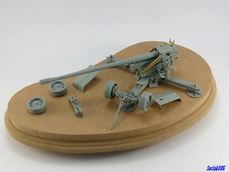 Krupp 12,8 cm PaK 44 (GWH réf L3526 - 1/35 ) M0259