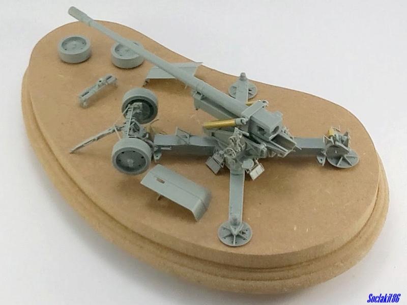 Krupp 12,8 cm PaK 44 (GWH réf L3526 - 1/35 ) M0354