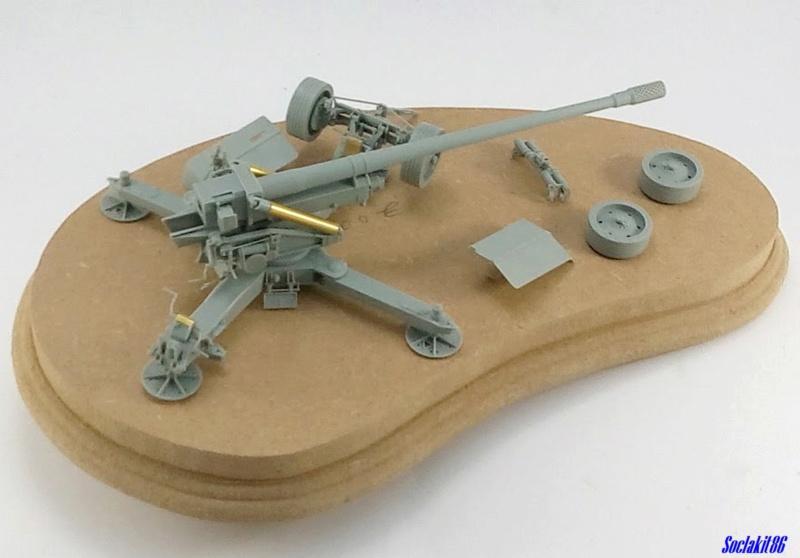 Krupp 12,8 cm PaK 44 (GWH réf L3526 - 1/35 ) M0453