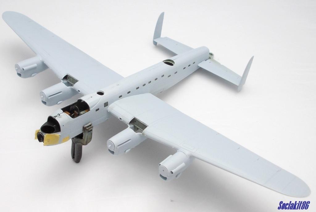 "Avro Lancaster B mark 1 ""RF128 - QB°V - Victorious Virgin "" ( Airfix 1/72 ) M0720"