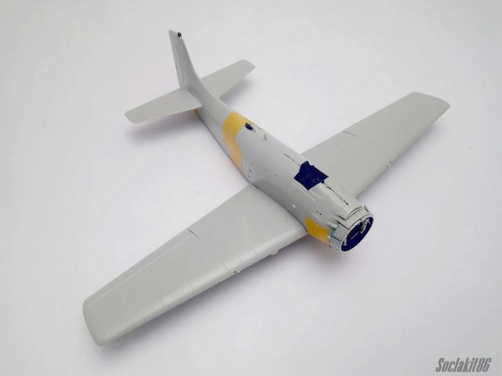 AD-4 Skyraider n°123895 /SFERMA 110 de l'EC 3/20  (Tamiya 1/48) M0735