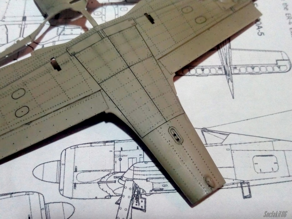 """FW 190 A-5 codé D5 + XV du 10/NJG-3 """"Nachtjagdkommando 190"""" (Eduard 1/48) M0739"""