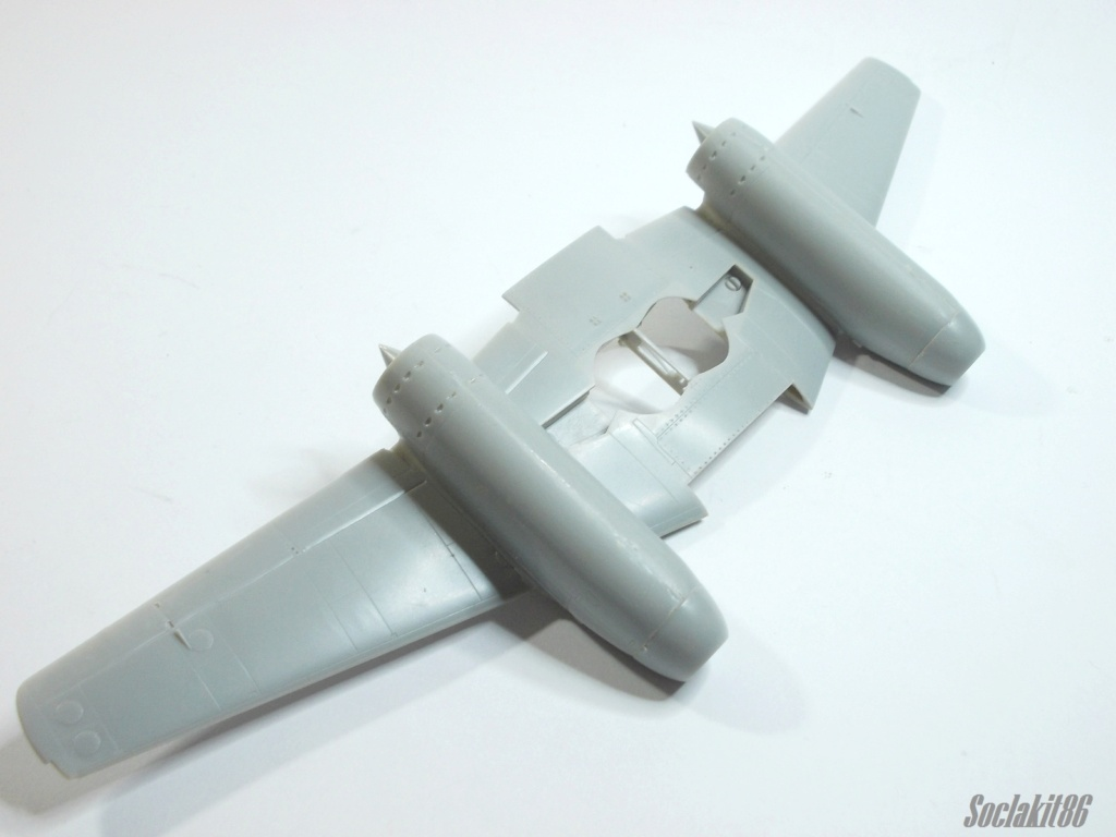 Double montage Me 262B-1a/U1 (Dragon 1/48)  M0742