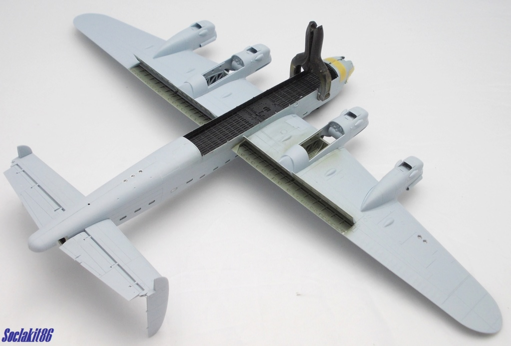 "Avro Lancaster B mark 1 ""RF128 - QB°V - Victorious Virgin "" ( Airfix 1/72 ) M0820"