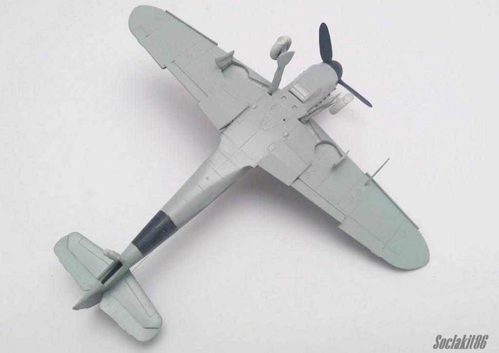 Bf 109 K-4 W.Nr. 332660 du 11/JG-53 (hasegawa 1/48)  M0833