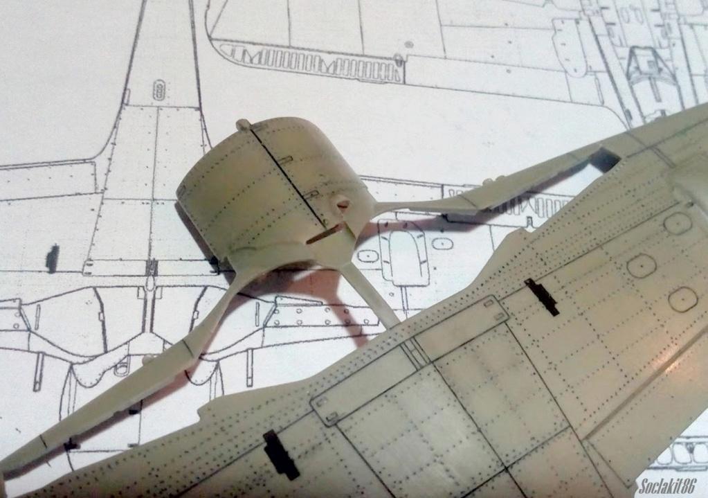 """FW 190 A-5 codé D5 + XV du 10/NJG-3 """"Nachtjagdkommando 190"""" (Eduard 1/48) M0838"""