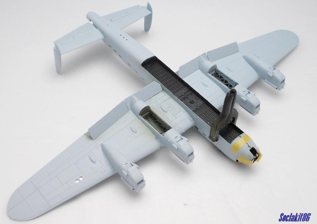 "Avro Lancaster B mark 1 ""RF128 - QB°V - Victorious Virgin "" ( Airfix 1/72 ) M0921"