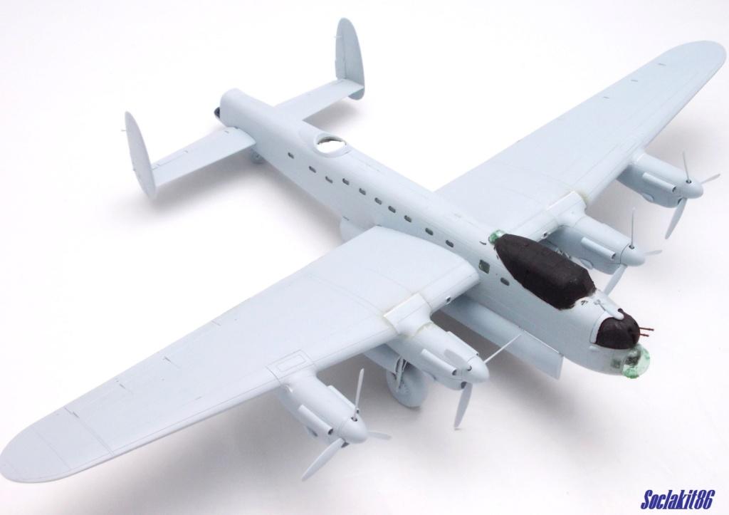 "Avro Lancaster B mark 1 ""RF128 - QB°V - Victorious Virgin "" ( Airfix 1/72 ) M1021"
