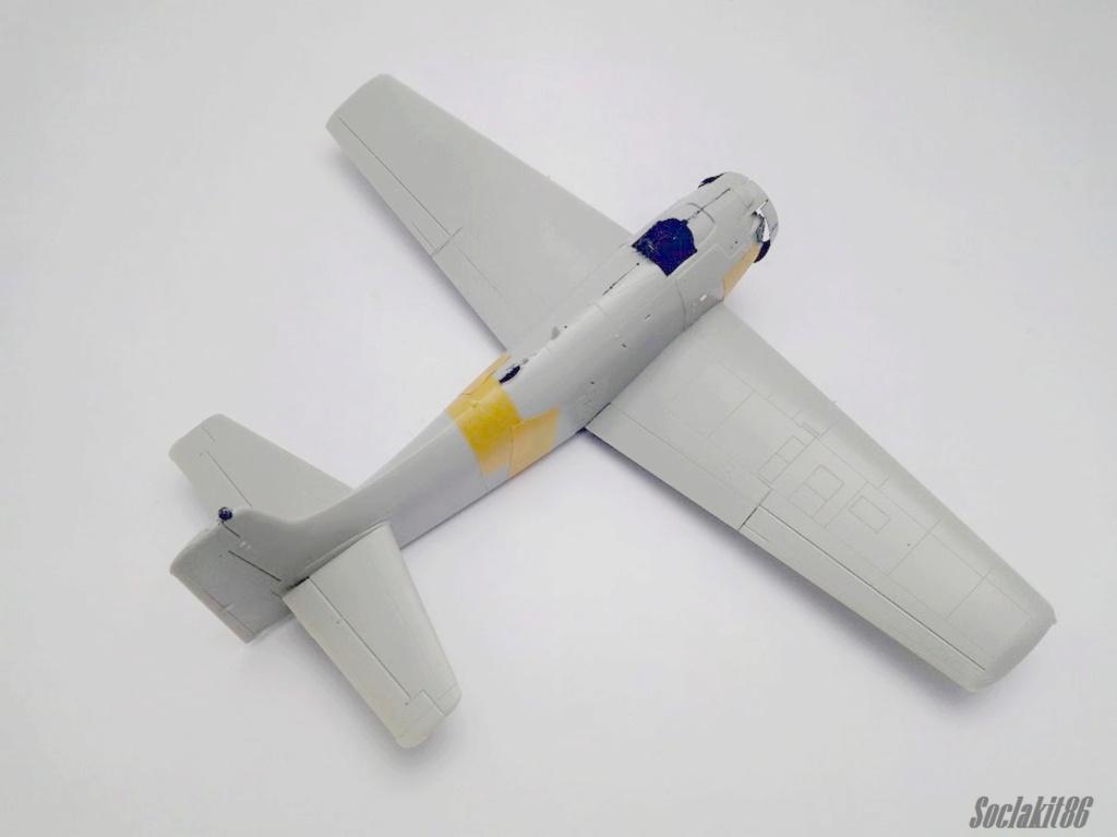 AD-4 Skyraider n°123895 /SFERMA 110 de l'EC 3/20  (Tamiya 1/48) M1033
