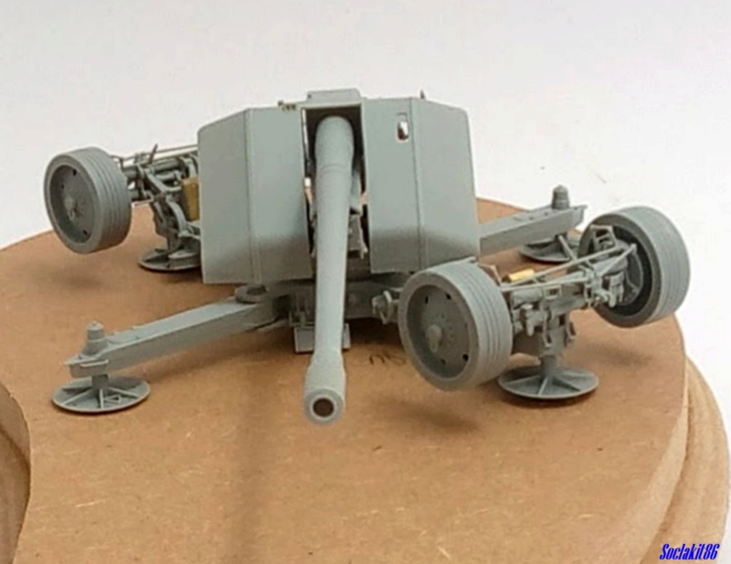 Krupp 12,8 cm PaK 44 (GWH réf L3526 - 1/35 ) M1047