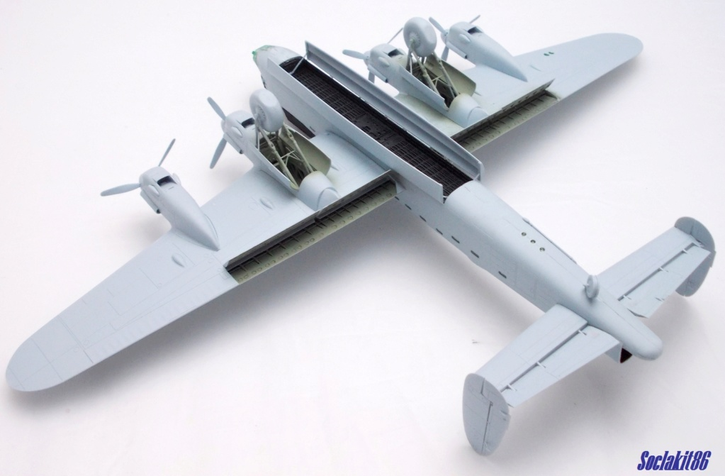 "Avro Lancaster B mark 1 ""RF128 - QB°V - Victorious Virgin "" ( Airfix 1/72 ) M1118"