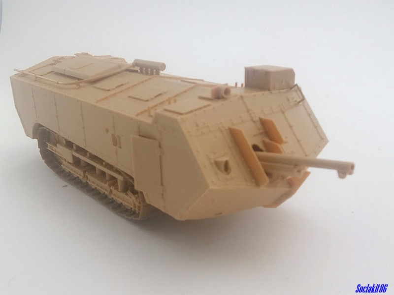 St Chamond M3 (Hobby Boss 83860 - 1/35)  M1142