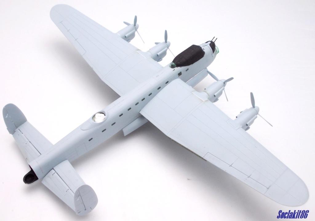 "Avro Lancaster B mark 1 ""RF128 - QB°V - Victorious Virgin "" ( Airfix 1/72 ) M1218"