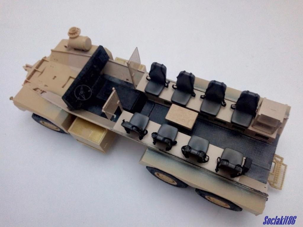 Mine Resistant Ambush Protect  6 x 6 Cougar (Meng 1/35)  M1228